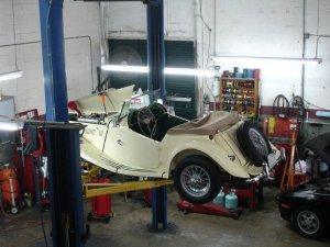1954 MG Midget TF engine problems | Jason's Space