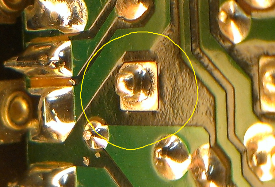 Cold Solder Joint >> Cold Solder Joint Repair On Mercedes Module Jason S Space